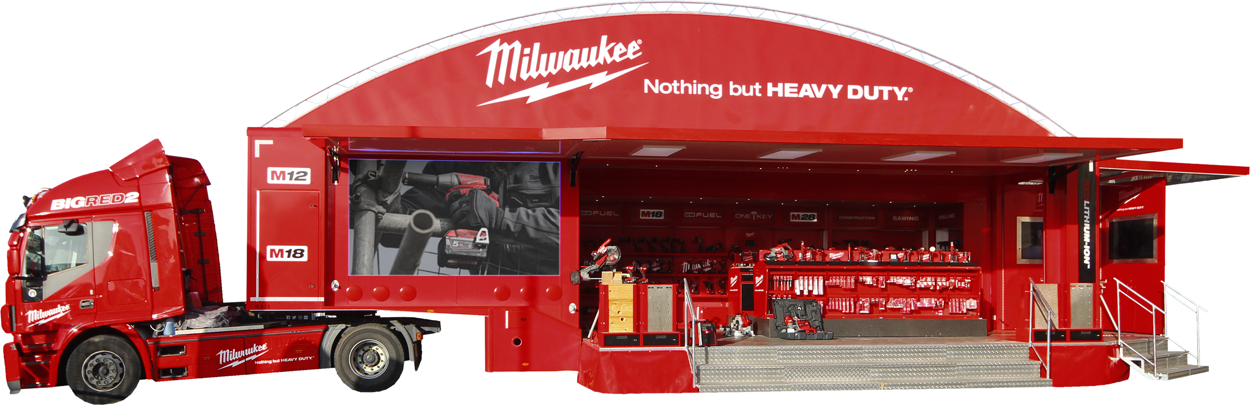 Milwaukee BIG RED TRUCK event