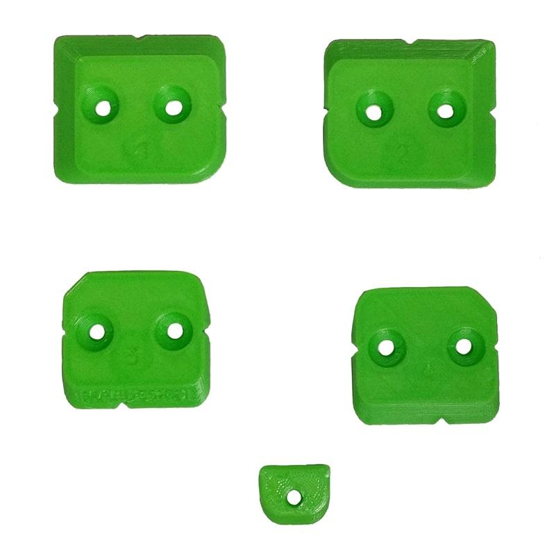 Image of   3D T-Loc Fødder (sæt) til Festool systainere