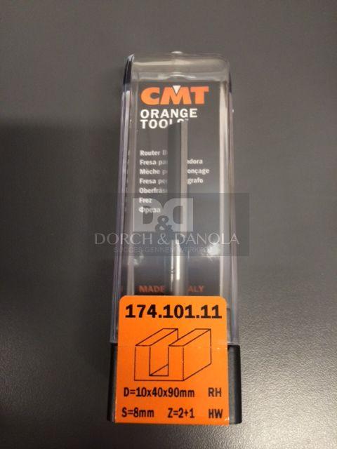 Billede af CMT Overfræsebor HM 10x40/90 K8