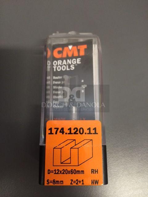 Billede af CMT Overfræsebor HM 12x20/60 K8