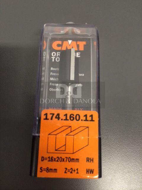 Billede af CMT Overfræsebor HM 16x20/70 K8