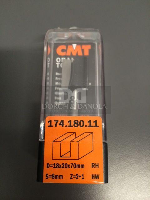 Billede af CMT Overfræsebor HM 18x20/70 K8