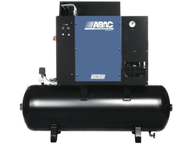 Image of   ABAC MICRON Skruekompressor stationær med tørrer 10Hp-270L