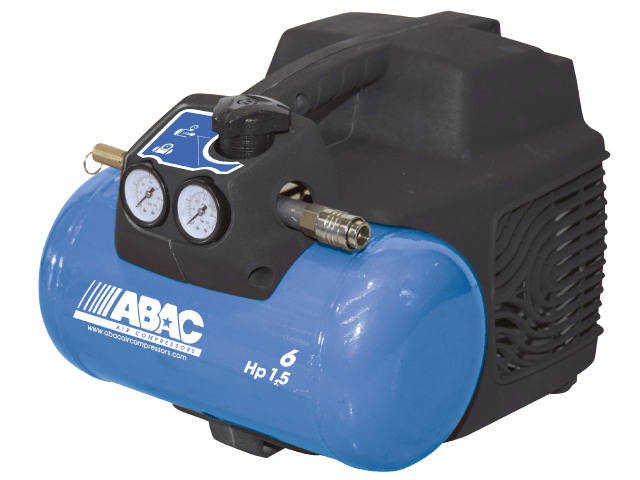 Image of ABAC 1.5Hp-6L/24L Stempelkompressor direkte dreven