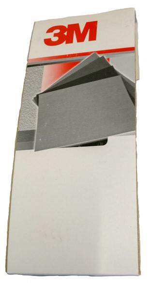 Image of   3M slibepapir K220 115x280 mm pakke á 100 stk