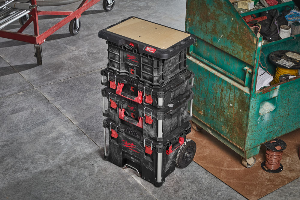 Køb Milwaukee transportabel arbejdsbordplade Packout
