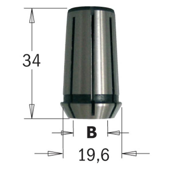 Image of   796.927.00 Spændebøsning CMT 1E/2E 12,7 mm