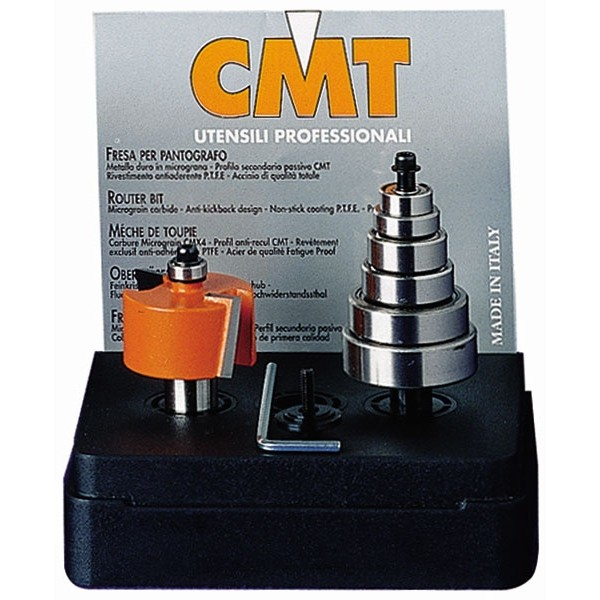 Billede af CMT Falsfræsesæt 0-12,7 K8