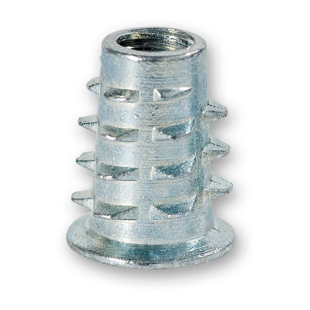 Køb Axminster Iskruningsbøsning til Træ – M6 – 10 stk.