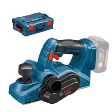 Bosch akku høvl GHO18V-Li Solo L-Boxx 06015A0300