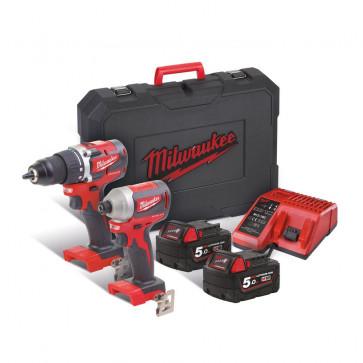 Milwaukee PowerPack M18 CBLPP2B-502C - 4933464718