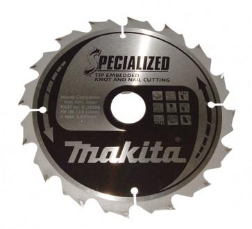 Makita HM rundsavsklinge 165mm 40tpi