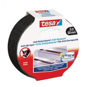Tesa Skridsikker tape sort 50 mm x 5 m - 043606011