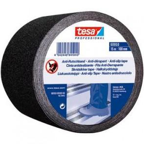 Tesa Skridsikker tape sort 100 mm x 15 m - 043608181
