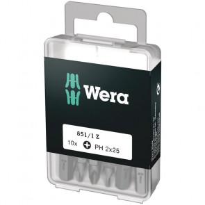 Wera Bits PH 2x25 á 10 stk. - 05072401001