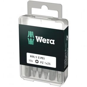 Wera Bits PZ 1x25 á 10 stk. - 05072403001