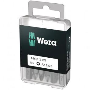 Wera Bits PZ 2x25 á 10 stk. - 05072404001