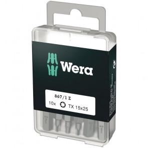 Wera Bits TX 15x25 á 10 stk. - 05072407001