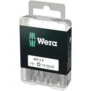Wera Bits TX 30x25 á 10 stk.  - 05072411001