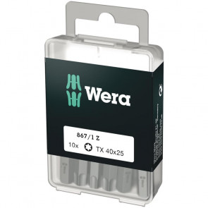 Wera Bits TX 40x25 á 10 stk.  - 05072412001