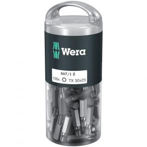Wera Bits TX 30x25 á 100 stk. i rør - 05072451001