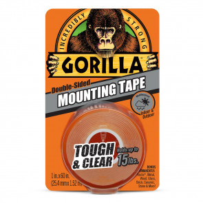 Gorilla Mounting Tape - Tough & Clear (1,5 m)