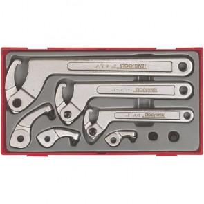 Teng Tools hagenøglesæt TTHP08 med 8 dele - 102120102