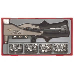 Teng Tools Blindnittemøtriksæt TTNR81 med 80 ass. nitter - 106190101