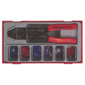 Teng Tools Kabelskotangsæt med kabelsko TTCP121 med 121 dele - 110380102