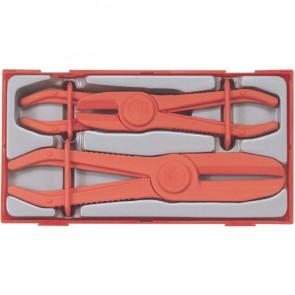 Teng Tools slangeklemmetang sæt TTHC03 med 3 dele - 118420108