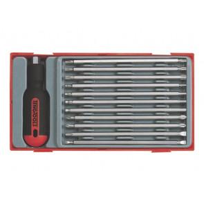 Teng Tools skruetrækkersæt 12 dele - 128650108