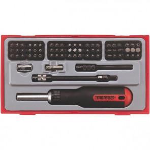 Teng Tools Bitsskruetrækkersæt 74 dele TTMD74 - 144030103