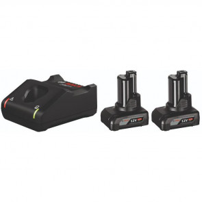 Bosch Startsæt  2 x GBA 12V 6.0Ah + GAL 12V-40 Professional - 1600A01B20