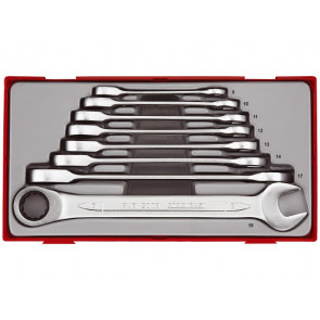 Teng Tools Ringgaffelnøglesæt med skralde TT6508RS 8-19mm - 166720102