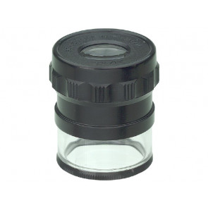 Limit værkstedslup 10x med måleskala og LED - 167800101