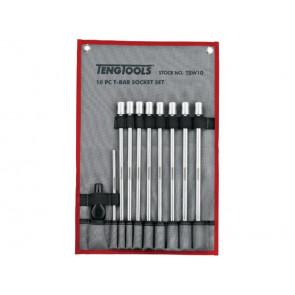 """Teng Tools 3/8"""" Topnøglesæt med T-håndtag TBW10 - 178791000"""