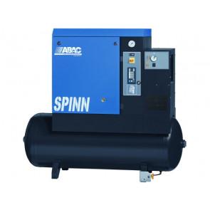 ABAC SPINN Skruekompressor stationær med tørrer 10Hp-270L 183990803