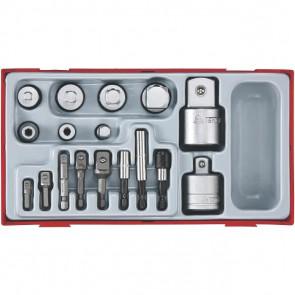 Teng Tools adaptersæt TTADP17 med 17 dele - 185800109