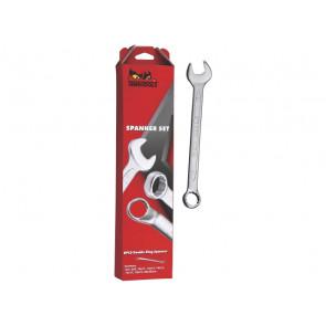 Teng Tools ringgaffelnøglesæt 6512N med 12 dele 8-19mm - 185860103