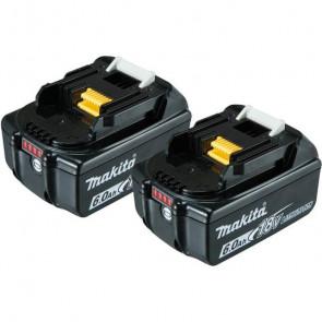 Makita Akku batteri BL1860B 6,0Ah 2 stk 197428-2