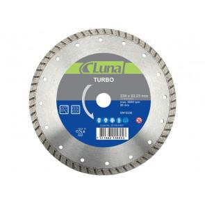Luna diamantklinge 115 mm Turbo - Beton med stål
