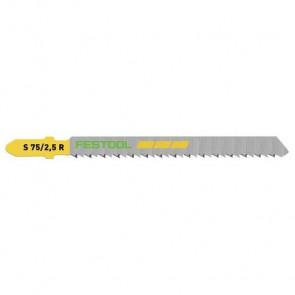 Festool Stiksavklinge S 75/2,5 R   Træ Fine Cut Savklinge   5 stk 204259