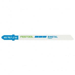 Festool Stiksavklinge HS 75/1,2 BI    Metal savklinge   5 stk 204270