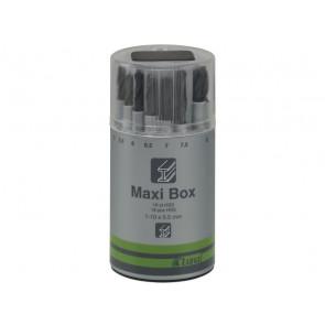 Luna borsæt 1-10 mm Maxi-box 19 dele 209540103