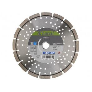 Luna diamantklinge 230 mm Multi - Beton med stål