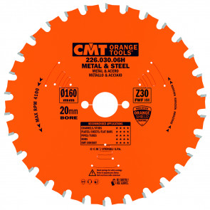 CMT Klinge 165x1,5x15.87 Z36 Dry Cut - 226.036.06