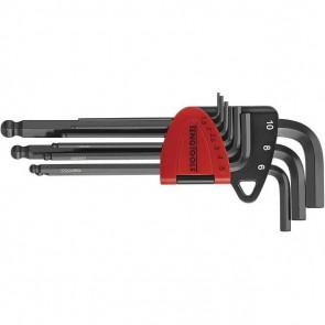 Teng Tools unbrakonøglesæt 1499MM, lange med kugleformet hoved - 231760109