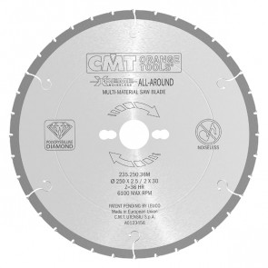 CMT DIA klinge 216x2,5x30 Z30 H - 235.216.30M