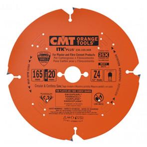 CMT DIA klinge 165x1,8x20 Z4 F AKKU - 236.165.04H