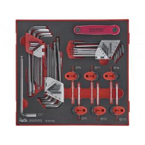 Teng Tools unbraconøgler & Torx nøglesæt TEDHT42 med 42 dele - 238330104